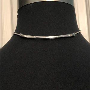Kendra Scott Jewelry - Kendra Scott Graham Rhodium choker necklace NWT